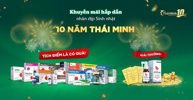 Khuyến mãi tháng 10: Sinh nhật Thái Minh – Rinh vàng 9999 - Ảnh 1.
